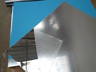 批量加工生产有机玻璃玩具镜片亚克力半透半反镜片图片