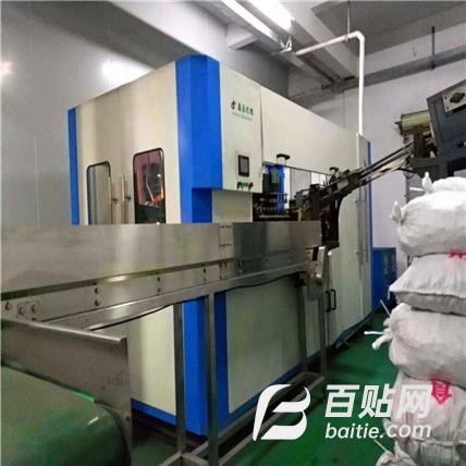 郑州经区回收二手果奶瓶塑料吹塑机 回收往复式吹瓶机图片