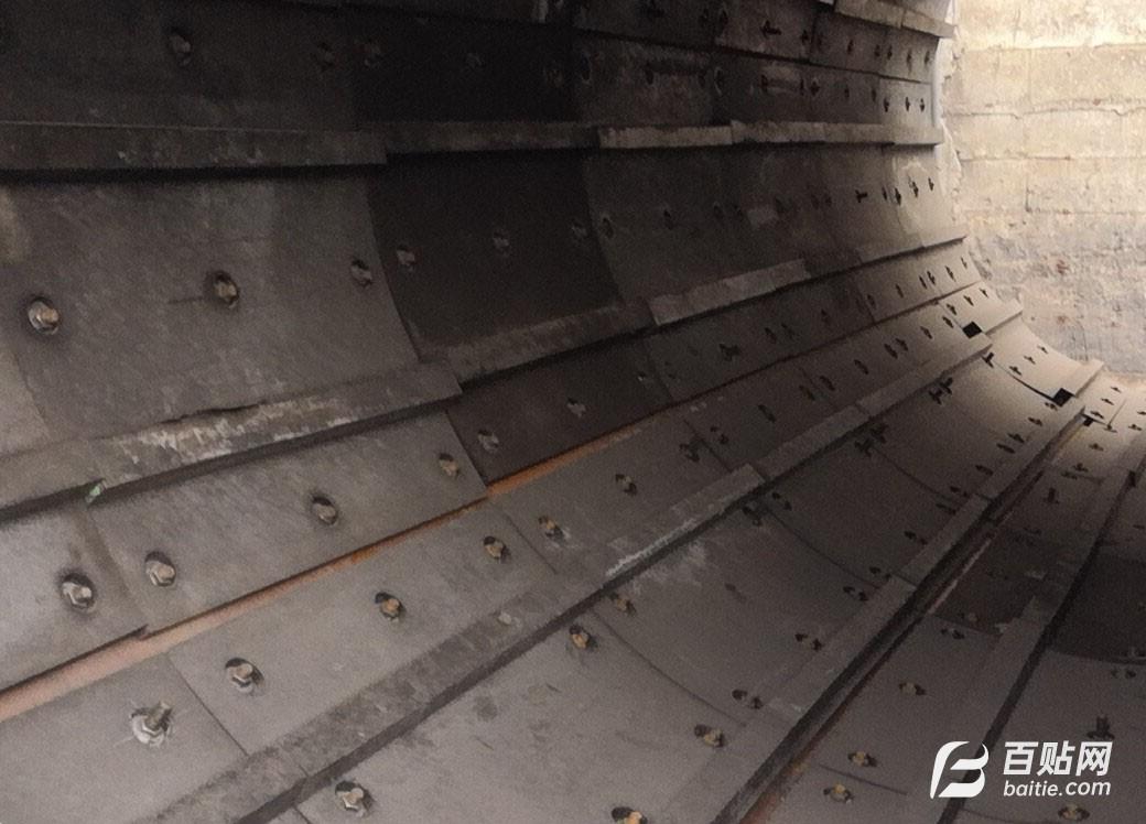 西安高分子耐磨滚筒混料机衬板安装生产厂家图片