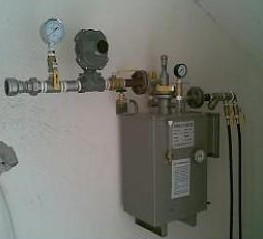 液化气增压器,餐馆酒店用防爆型EMSON液化气气化器图片