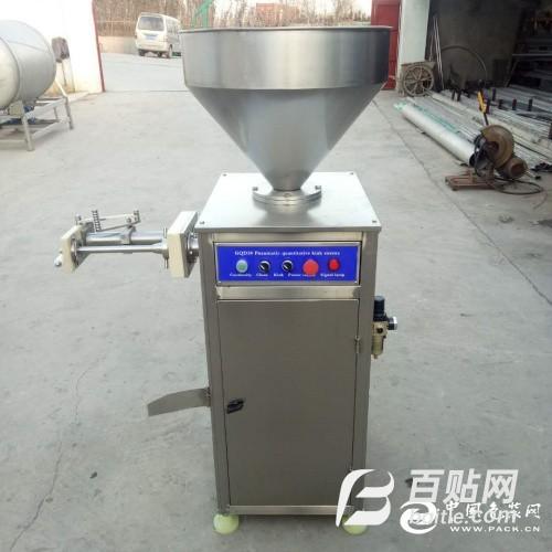 供应气动扭结灌肠机 香肠灌肠机 灌肠机生产厂家图片