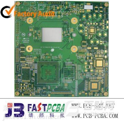 广东深圳靖邦通信类高品质PCB电路板加工厂图片