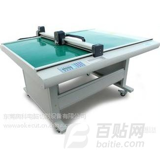 反射膜电脑模切机,保护膜模切机,电子材料切割机,奥科电脑切割机图片