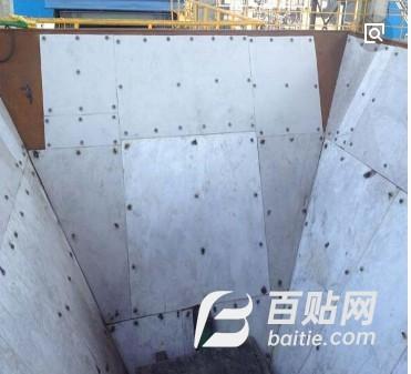 内蒙古安装修复耐磨高分子煤仓衬板厂家现货品质图片