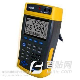 银川pt1000温度仪表校验仪 便携式温度校验仪 低价促销图片