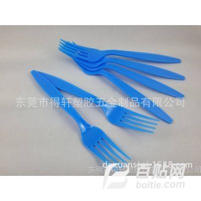 厂家生产塑料透明一次性刀叉勺 环保创意派对餐饮用品图片