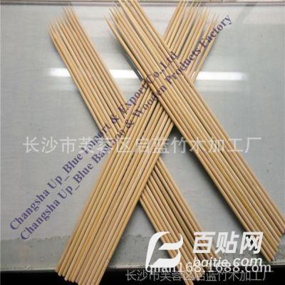 供应BBQ烧烤工具 烧烤用品 烤签 批发 竹签 竹制烤针图片