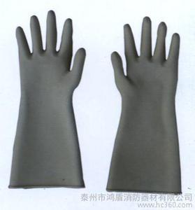 供应防化手套 电绝缘手套 防割手套 消防手套图片