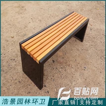 公园休闲长椅 户外实木公园椅 园林塑木长条凳 库存充足量大均可酌情优惠图片