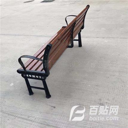 公园椅户外长椅子 小区休闲座椅 木制长椅 支持加工定制图片