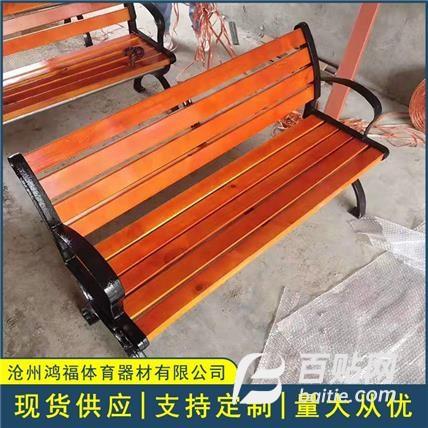 户外公园椅 防腐实木园林椅 塑木有无靠背长椅子 量大均可酌情优惠图片