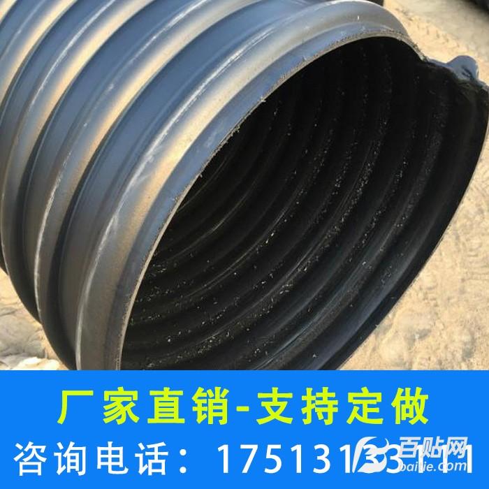 河南 郑州 双壁波纹管 hdpe双壁波纹管 大口径排污管-鑫楠建材图片