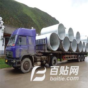 供甘肃镀锌波纹管和兰州排水波纹管厂图片