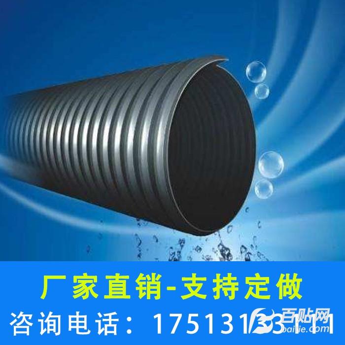 河南、郑州钢带波纹管厂家、pe钢带管厂家批发-鑫楠建材图片