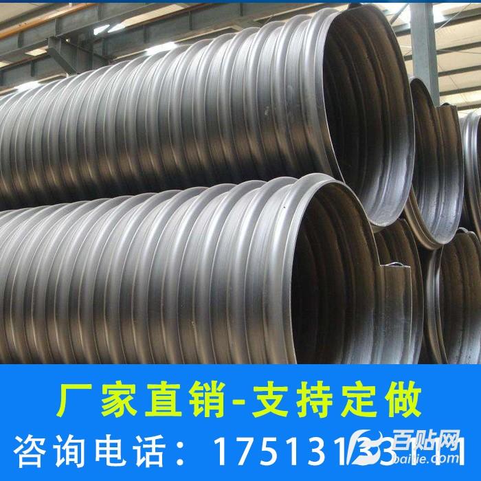 开封钢带管厂家 鹤壁钢带管 商丘波纹管-鑫楠建材图片