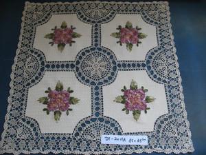 供应德州市硕羽工艺绣品厂电脑刺绣产品  生产靠垫、窗帘、盘垫产品欢迎洽谈图片