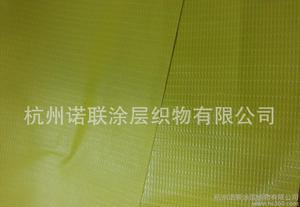 生产优质PVC单面涂层布涂贴布夹网布箱包面料图片