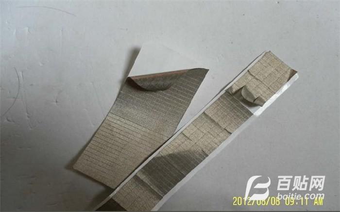 佛山导电布胶带 东莞海欣包装 镀金导电布胶带图片