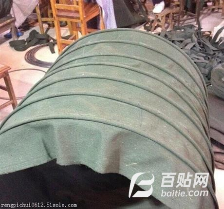 耐磨帆布软连接直销/耐高温帆布软连接生产厂家图片