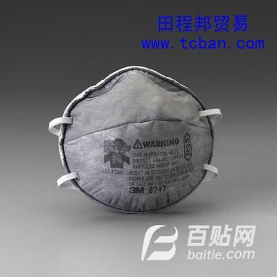 3M8247R95有机气体及颗粒物防护口罩图片