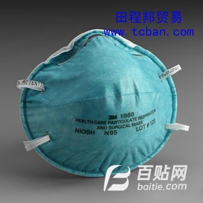 3M1860医用防护口罩图片