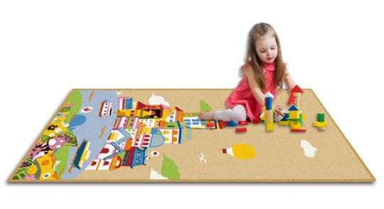 橡胶儿童地毯批发_上海地毯厂家_sunfavor图片
