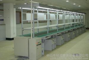 其他电子产品制造设备空调组装线、热水器装配线、电水壶装配线、冰箱线、组装线、装配图片
