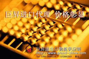 代理报关电子产品制造设备进口代理图片