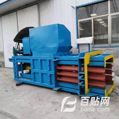 博通机械 垃圾处理液压打包机 废料下脚料机 废纸箱液压打包机生产厂家图片