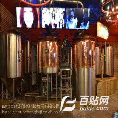 供应啤酒设备项目合作 自酿啤酒技术合作 代理加盟图片