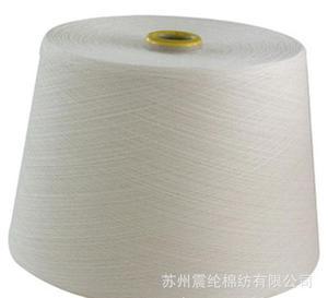 针织竹节纱线 40S人棉竹节纱图片