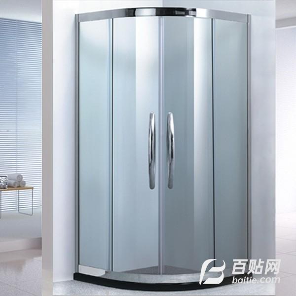 朗瑞尔整体淋浴房 钢化玻璃隔断淋浴房图片