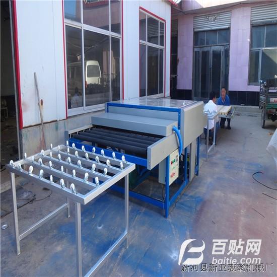 中空玻璃清洗机  门窗厂推荐 玻璃洗片机 1600玻璃清洗干燥机图片