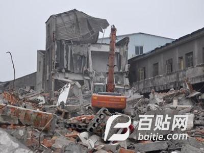厂房拆除厂房拆除报价|上海市厂房拆除哪家有保障图片