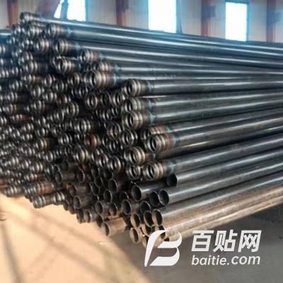 桥梁桩基声测管50/54/57超声波检测管钳压式螺旋式套筒式图片