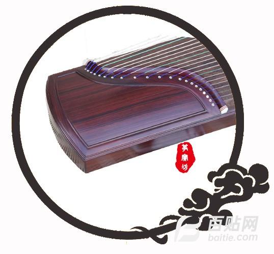 厂家批发 现货 紫檀专业演奏筝图片