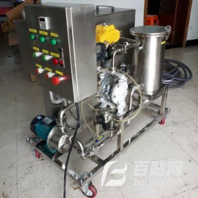 机械加工液槽清洗,纳米气浮油水分离设备、污水处理设备图片