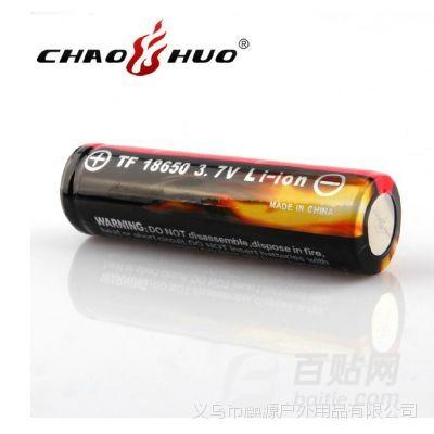 超火原装***强光手电18650锂电池 3.7V 4200毫安可充电电池图片