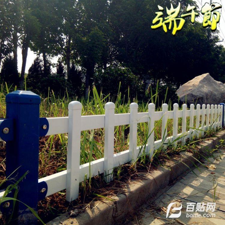锌钢草坪护栏 绿化带栅栏 花池花坛围栏  公园学校铁艺栅栏厂家图片