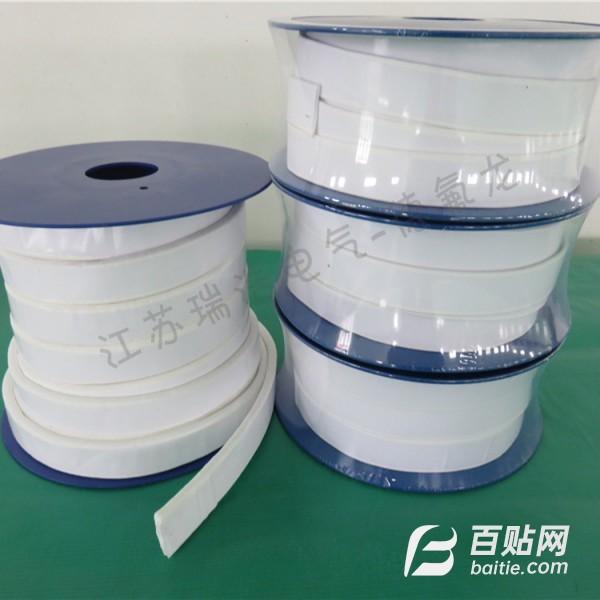 耐高低温聚四氟乙烯膨体带 管道专用四氟弹性带 四氟海绵密封条图片