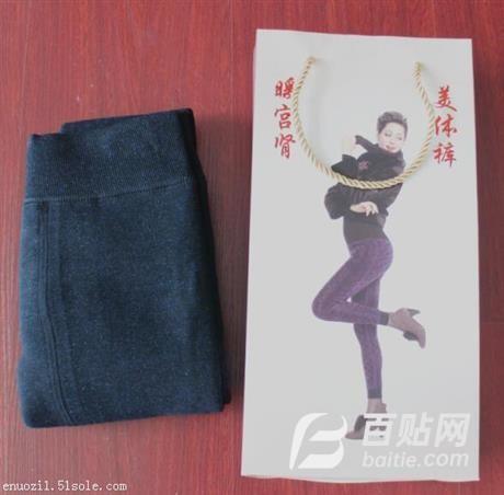 加厚加绒女士棉裤批发自发热热灸裤暖宫打底裤厂家图片