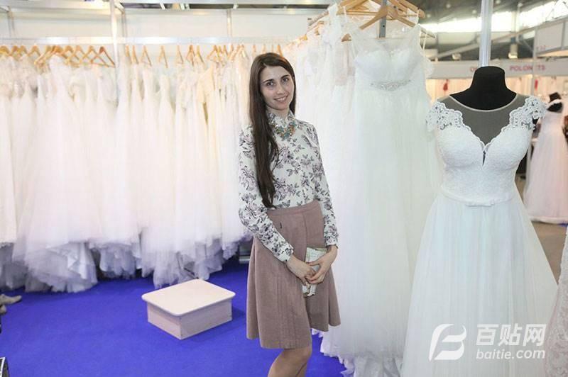 2019年俄罗斯婚纱礼服面料展图片