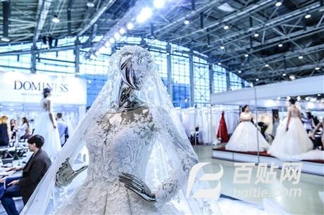 2018年俄罗斯婚纱面料展图片