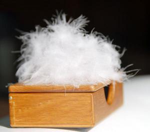 羽绒  天然纺织原料销售图片