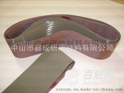厂家低价进口3MA30 307EA 金字塔环形砂带金属抛光拉丝专用图片