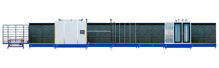 供应立式全自动中空玻璃平压生产线图片