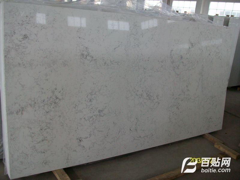 供应优质石英石花纹板加工 双色板大板图片