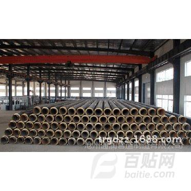 筑预制塑套钢直埋保温管生产厂家,聚乙烯防腐防水保温钢管供应商图片
