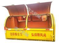 工程塑料垃圾箱厂工程塑料垃圾箱环保垃圾箱容大供图片