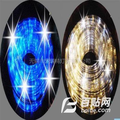 供应外贸出口圆二线带跳闪灯珠LED彩虹管灯带图片